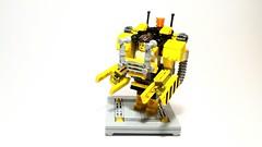 Power Loader vs Alien (bbchai) Tags: lego alien mecha mech moc powerloader