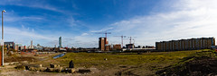 Manchester March 2016 (9 of 9) Panorama (johnlinford) Tags: city uk england urban panorama architecture manchester canonefs1022