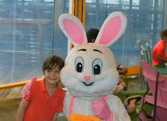 Pearson McLendon & Easter Bunny 2016