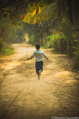 Kompong Cham - Cambodia (Asia Trip Tour - Sbastien Pagliardini) Tags: ocean road trip travel blue boy sunset sea color water canon children thailand globe nikon asia cambodge cambodia khmer kep little picture pride adventure bleu jungle asie cham phnom penh sebastien kampot kompong pagliardini