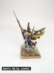 Dark Maiden (whitemetalgames.com) Tags: sea white monster metal angel dark painting gold boat ship reaper painted pirates large games commission maiden masthead wmg ncraleighnorthcarolinacommissionservice