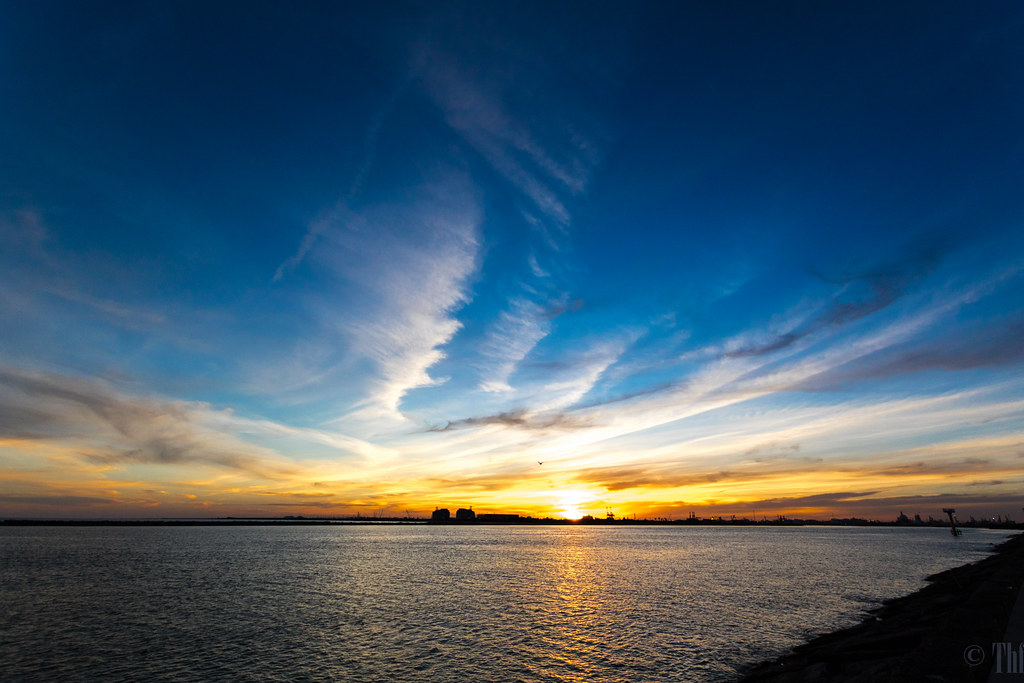 Sunset from the Surfside Jetty near Free by Tom Fowler LJTX, on Flickr