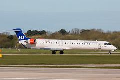 OY-KFH (Daniel Hobbs   Spot2Log) Tags: plane airplane manchester airport aircraft aviation sas scandinavian manchesterairport crj bombardier cimber egcc
