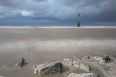 Crosby (juliereynoldsphotography) Tags: longexposure storm clouds liverpool crosby rivermersey julierobinson juliereynolds