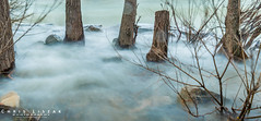 Water Over Rocks (Chris Liszak Photography) Tags: longexposure lake ontario canada color colour water wow photo sharp spooky stunning lakeontario nikond3200 ndfilter chrisliszakphotography