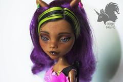 Repaint Clawdeen Wolf (skiurid_b) Tags: monster high wolf doll ooak custom repaint clawdeen
