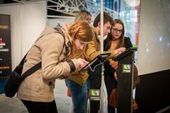 SalonSIEP-M+®tiers du Spacial-17 (cdsunamur) Tags: robot stand université salon sciences espace savoir siep visites métiers unamur henallux