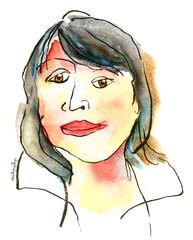91/366~ what's more #inspiring than yourself #watercolor #painting #winsorandnewton #sketch #lineandwash #selfie #fun# #ink #brushpen #illustration #womensday #caricature #366 #2016 (j.smita7) Tags: illustration ink watercolor painting fun sketch caricature inspiring brushpen selfie womensday 2016 366 winsorandnewton lineandwash