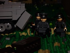 Night falls (shermancommander) Tags: night germans brickarms