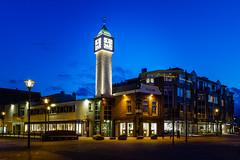 Horlogerie van Manen, Veenendaal (NL) (evb-photography) Tags: brouwersgracht veenendaal hoogstraat avondfotografie zwaaiplein horlogerievanmanen