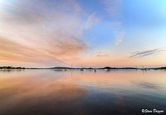 0S1A4337enthuse (Steve Daggar) Tags: sunset panorama reflection reflections landscape boats yacht waterscape brisbanewater woywoy panno