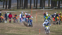 Enduro race - The Start (Infomastern) Tags: race contest mcdonalds motorcycle enduro motorcykel tävling lopp revingehed fmck fmckmalmö