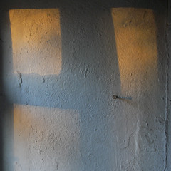 late light (the incredible how (intermitten.t)) Tags: light shadow white wall nail lowsun 5450 20160218