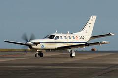 TBM-700A, 100 / ABP (WestwardPM) Tags: frencharmy newquayairport newquaycornwallairport tbm700 alat socata 100abp