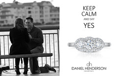 WOW- Look at the ring! (dhjewellers) Tags: scotland edinburgh diamond proposal platinum weddingplanning threestone edinburghjewellers edinburghproposal