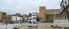 Caceres Plaza Mayor Torres de los Pulpitos y de la Yerba 03 (Rafael Gomez - http://micamara.es) Tags: plaza de la los torre mayor unesco panoramica yerba caceres humanidad patrimonio pulpitos