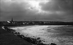 106 - Arctic Plunge (North Light) Tags: sun beach weather clouds squall coast scotland caithness thurso thursobeach
