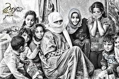 #Grandmother and her #Grandchildren in #Gaza.. (TeamPalestina) Tags: sunset sky sun sunrise landscape landscapes photo am amazing nice photographer natural sweet live palestine comfort sunrays gaza beautifull palestinian  landscapecaptures