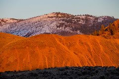 Hillside (stevenbulman44) Tags: blue winter sky orange color canon landscape outdoor tripod filter lee kamloops hillside gitzo lseries gnd 70200f28l
