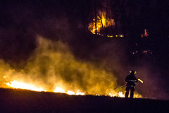 DD HWY-Field Fire-14 (Mather-Photo) Tags: winter night fire lowlight wind smoke flames burning burn damage emergency firefighters charred 2014 firstresponders fieldfire emergencypersonnel andrewmather matherphoto andrewmatherphotography