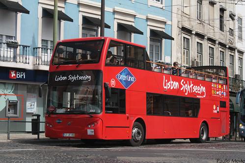 Volvo B7R Camo Citytour 3042 Cityrama, Largo Duque da Terceira, 23 de Março de 2015