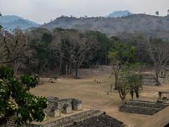 """Copan Ruinas: vue sur la Plaza Principal depuis l'Acropolis <a style=""""margin-left:10px; font-size:0.8em;"""" href=""""http://www.flickr.com/photos/127723101@N04/26457618242/"""" target=""""_blank"""">@flickr</a>"""