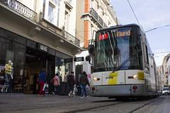 Hermelijn 6301, Veldstraat, Ghent (Tetramesh) Tags: belgium belgique belgie belgi tram ghent gent gand flanders belgien belgio delijn blgica gwladbelg vlaanderen oostvlaanderen belgia leiestreek blgica eastflanders belga belika 6301 belgicko beija belgija belgjik belju blxica anbheilg  tetramesh b    ubelgiji
