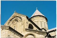 (tayn3) Tags: travel film church architecture analog 35mm georgia asia kodak olympus ishootfilm monastery soviet caucasus silkroad georgian analogue centralasia olympusom2 exsoviet mtskheta olympusom2n ultramax400 filmlife traveldeeper