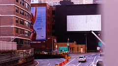 Love the Swim (Jeffrey) Tags: city nyc newyorkcity urban newyork building architecture buildings design spring highway ramp manhattan cities tunnel ramps billboard midtown billboards exit exits murrayhill 40thstreet 2016 midtowntunnel eastmidtown e40st east40thstreet
