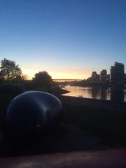 IMG_1296 (Sweet One) Tags: sunset canada vancouver bc britishcolumbia falsecreek