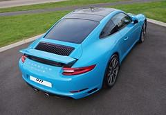 Fit for a Smurf, (czd72) Tags: blue turbo porsche smurf carrera 991