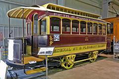 Horse trolley  Pennsylvania Trolley Museum (SteveMather) Tags: horse washington nikon trolley tram clean pa 101 restored dxo drawn oldest mule topaz ptm 1870s pennsylvaniatrolleymuseum d7100 opticspro