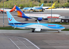 G-TAWO Boeing 737-800 of Thomson Airways (SteveDHall) Tags: airplane manchester airport aircraft aviation aeroplane thomson boeing airliner airliners 737 airfield manchesterairport aerodrome b737 ringway 737800 2016 boeing737800 boeing737 b737800 738 b738 thomsonairways gtawo