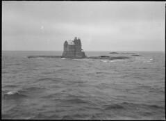 Porkkala; majakka rakenteilla, tornin ylosa keskenerinen (KansallisarkistoKA) Tags: lighthouse beacon 1920 majakka porkkala