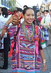 Woman Oaxaca Usila Huipil Mexico (Teyacapan) Tags: woman mexicana mexico clothing mujer mexican huipil chinanteca huipiles usila