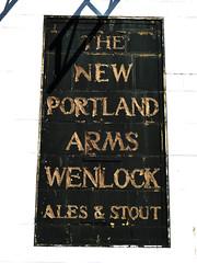 New Portland Arms (Draopsnai) Tags: lambeth pubsign wandsworthroad wallsign lostpub newportlandarms