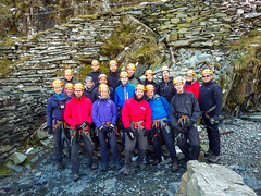 Honister_Via Ferrata (10 of 73) (Kevin John Hughes) Tags: bridge england lake snow mountains net landscape scary burma rope cargo climbing pike keswick buttermere honister dostrict fleetwith mountineering