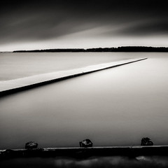 Z (MathieuL33) Tags: longexposure lake art water square eau quiet fine lac calm lee calme forme carr sanguinet landes longexposition poselongue