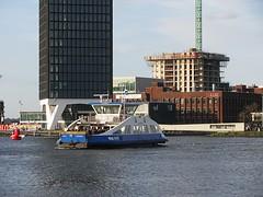Amsterdam 2016 (streamer020nl) Tags: holland adam tower netherlands amsterdam ferry harbour nederland veer pont 53 paysbas ij niederlande noord gvb 2016 ijveer overhoeks 290416