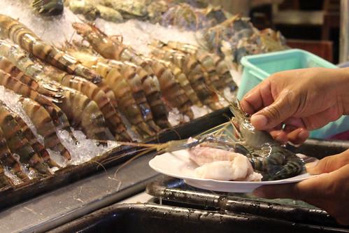 Hua Hin night markets seafood