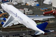 Boeing 747 Dreamlifter N780BA (Mark Harris photography) Tags: plane canon aircraft boeing 747 kpae dreamlifter