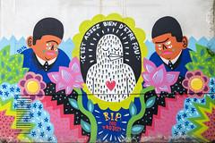 Kashink (Ruepestre) Tags: street streetart paris france graffiti graffitis zooproject kashink