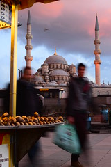 DSC_0441 (Caner Erdoan) Tags: vertical cityscape cloudy istanbul mosque slowshutter cami eminn eminonu cloudyweather seyyar ar dikey seyyarsatc istanbulcity