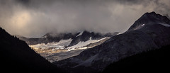 Vast moraines and slides south of Skagway (JM L) Tags: ice alaska glacier skagway scree 219 talus lynncanal adobecameraraw