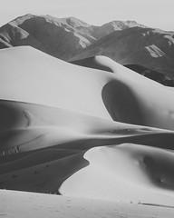 Dune Mountains (Joel Quimpo) Tags: desert dunes deathvalley rockformations ibex