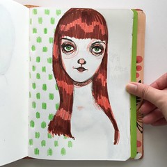 amanda (How To Make Art) Tags: art notebook sketch artist drawing journal sketchbook draw planner midori midoritravelersnotebook