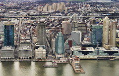The Waterfront ! (James Whorriskey (Delbert Jackson)) Tags: world new york city uk ireland building skyline america skyscraper river catchycolors observation one photo photographer floor state top centre picture center deck 101 observatory photograph londonderry empire northernireland 102 hudson 100 trade abbi derry ulster urbanlights impressionsexpressions seeforever aroundus jameswhorriskey delbertjackson jameswhoriskey jameswhorriskeyphotography oneworldobservatory