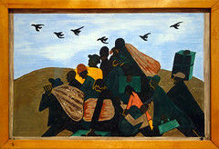 Lawrence, The Migration Series, 1940-41 (3 of 60 panels)