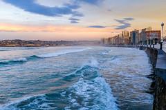 (Antonio Balsera) Tags: espaa mar gijn asturias es playadesanlorenzo cantbrico principadodeasturias