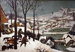 Bruegel the Elder, Hunters in the Snow (Winter)
